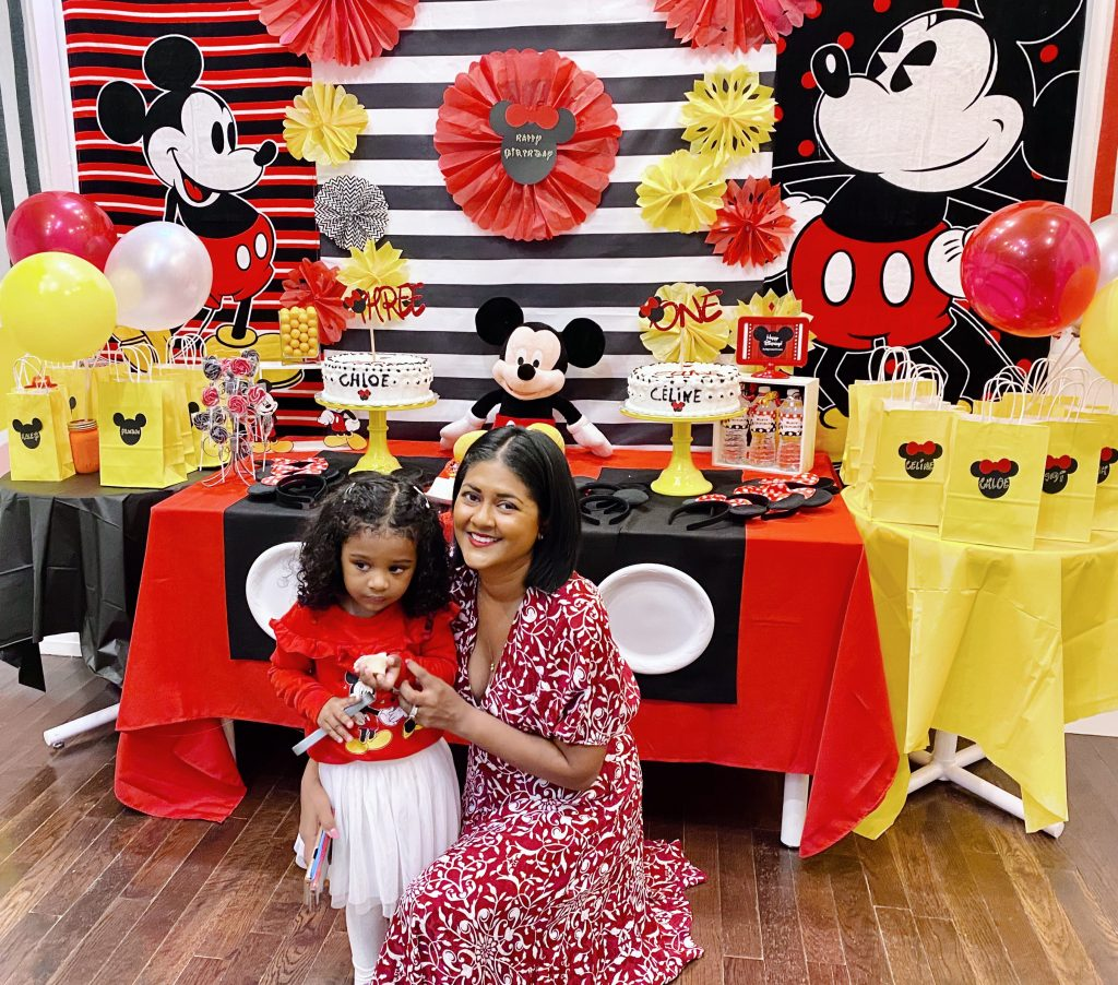 Mickey Mouse diy birthday gift bags