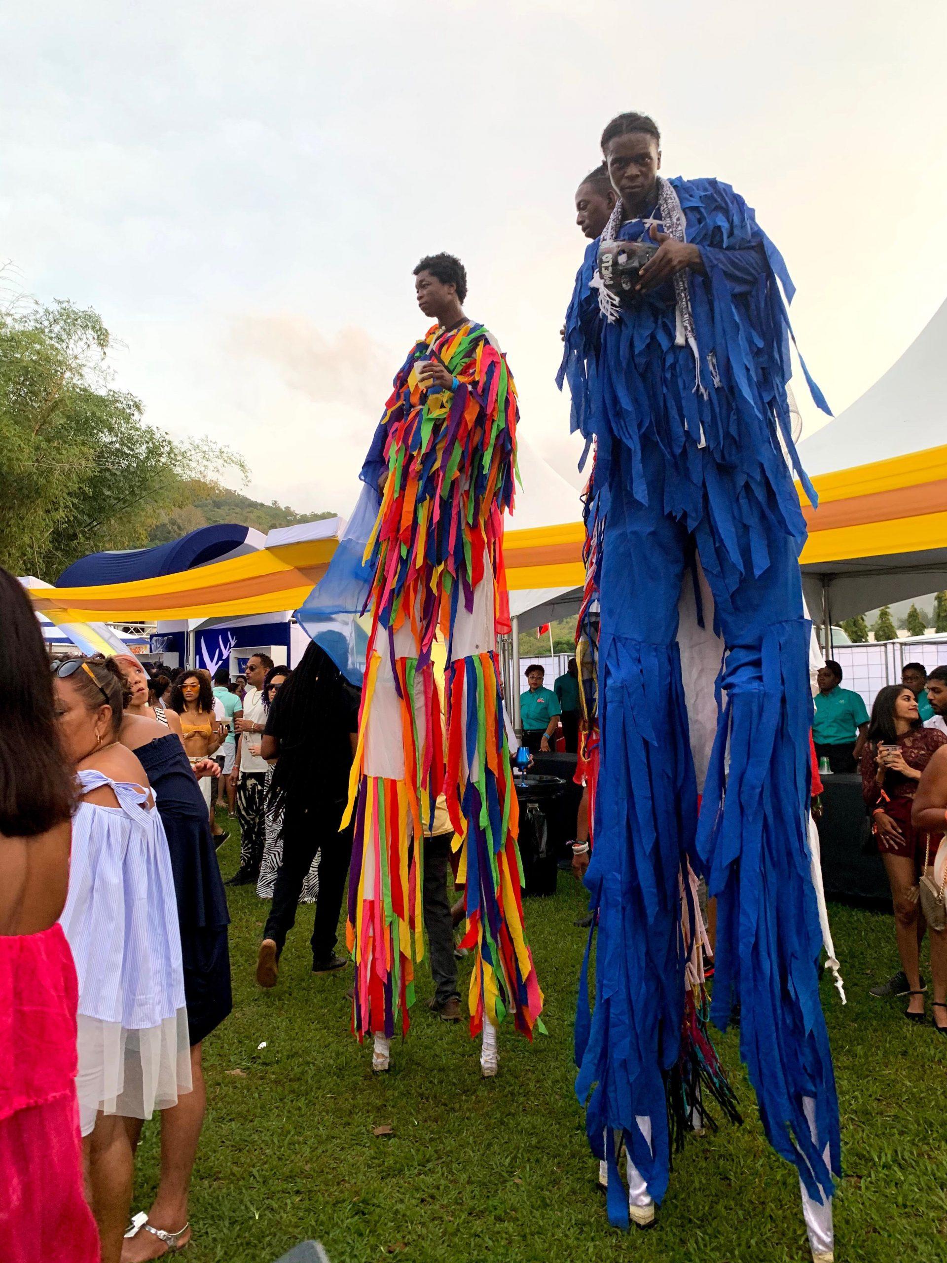 moko jumbie trinidad and tobago carnival 2020 vale vibe fete
