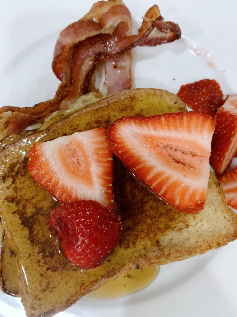 Kahlua French toast